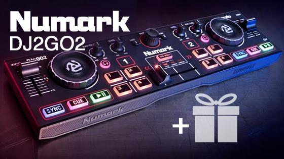 Акция - сэмплы в подарок к каждому Numark DJ2GO2!