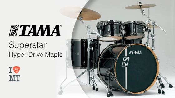 TAMA Superstar Hyper-Drive Maple