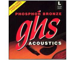 GHS STRINGS  PHOSPHOR BRONZE S325 Струни для акустичних гітар