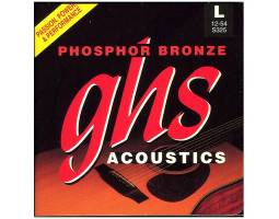 GHS STRINGS  PHOSPHOR BRONZE S325 Струны для акустических гитар