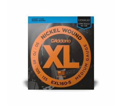 Купить D'ADDARIO EXL-160-5 Струны для бас-гитар онлайн