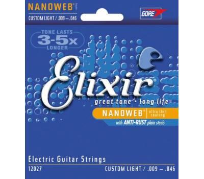 Купить ELIXIR EL NW CL 12027 Струны для электрогитар онлайн