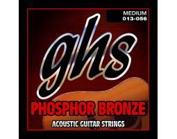 GHS STRINGS PHOSPHOR BRONZE S335 Струны для акустических гитар