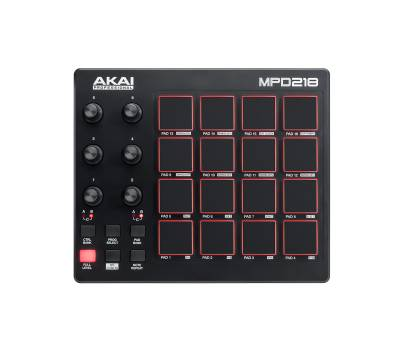 Купить AKAI MPD218 MIDI контроллер онлайн