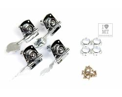 FENDER BASS TUNING MACHINES STANDARD-HIGHWAY ONE SERIES CHROME (4)  Колки для бас-гитары