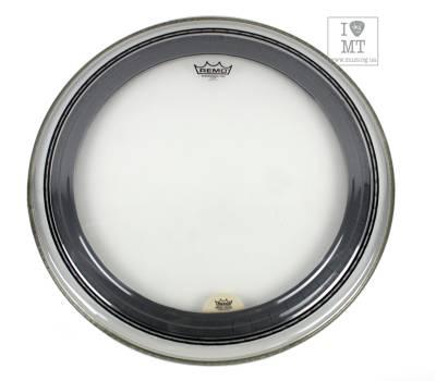 "Купить REMO POWERSTROKE PRO, Clear, 22"" Diameter, Bass Пластик для барабана онлайн"