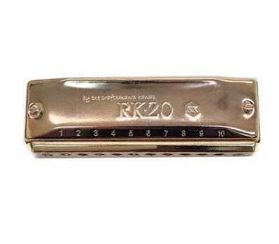 Купить HERING RK 20 GOLDEN COVERPLATES CUSTOM MADE RK-201-C Губная гармошка онлайн