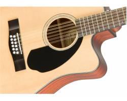 FENDER CD-60SCE-12 NATURAL Гитара электроакустическая