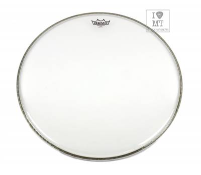 "Купить REMO Bass, AMBASSADOR, Clear, 20"" Diameter Пластик для барабана онлайн"