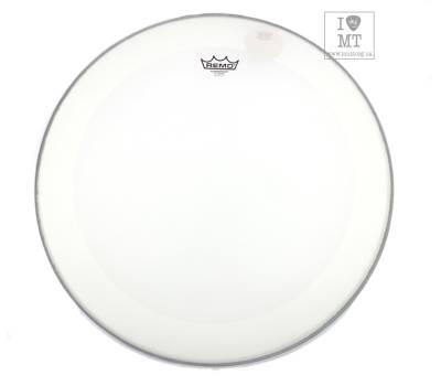 """Купить REMO Bass, POWERSTROKE 4, Coated, 22"""" Diameter, With Impact Patch Пластик для барабана онлайн"""