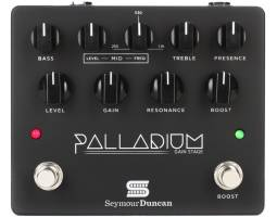 SEYMOUR DUNCAN PALLADIUM GAIN STAGE BLACK Педаль ефектів