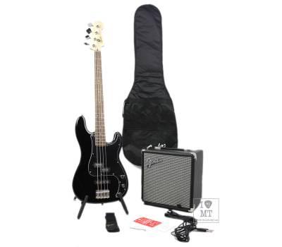 Купить SQUIER by FENDER PJ BASS PACK BLACK Гитарный набор онлайн