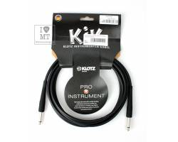KLOTZ KIK INSTRUMENT CABLE BLACK 3 M Кабель инструментальный