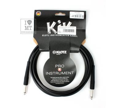 Купить KLOTZ KIK INSTRUMENT CABLE BLACK 3 M Кабель инструментальный онлайн