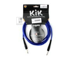 KLOTZ KIK INSTRUMENT CABLE BLUE 3 M Кабель инструментальный