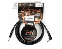 KLOTZ LAGRANGE INSTRUMENT CABLE BLACK ANGLED 3 M Кабель инструментальный