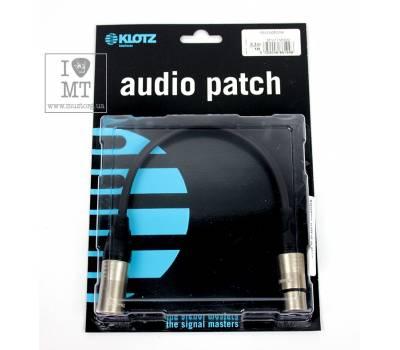 Купить KLOTZ M1 PRIME MICROPHONE CABLE 0.3 M Кабель микрофонный онлайн