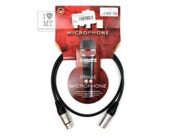 KLOTZ M1 PRIME MICROPHONE CABLE 1 M Кабель мікрофонний