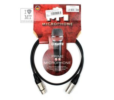 Купить KLOTZ M1 PRIME MICROPHONE CABLE 1 M Кабель микрофонный онлайн