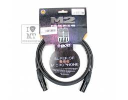 KLOTZ M2 SUPERIOR MICROPHONE CABLE 2 M Кабель микрофонный