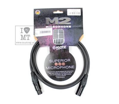 Купить KLOTZ M2 SUPERIOR MICROPHONE CABLE 2 M Кабель микрофонный онлайн