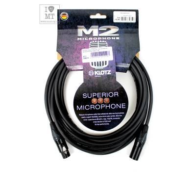 Купить KLOTZ M2 SUPERIOR MICROPHONE CABLE 5 M Кабель микрофонный онлайн