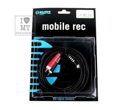 Купить KLOTZ AY7 Y-CABLE STEREO MINI JACK - RCA BLACK 3 M Кабель коммутационный онлайн