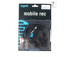 KLOTZ AY8 Y-CABLE STEREO MINI JACK - 2xXLR FEMALE BLACK 3 M Кабель комутаційний