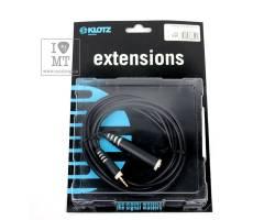 KLOTZ AS-EX3 EXTENSION CABLE BLACK 3 M Кабель коммутационный