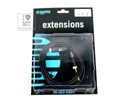 KLOTZ AS-EX6 EXTENSION CABLE BLACK 3 M Кабель коммутационный