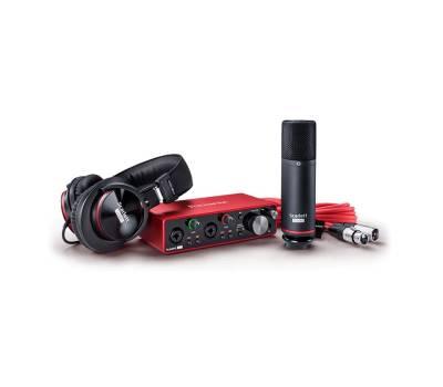 Купити FOCUSRITE Scarlett 2i2 Studio 3rd Gen Комплект для звукозапису онлайн
