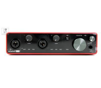 Купить FOCUSRITE Scarlett 4i4 3rd Gen Аудиоинтерфейс онлайн