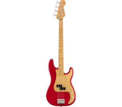 Купить FENDER VINTERA '50s PRECISION BASS MN DAKOTA RED Бас-гитара онлайн