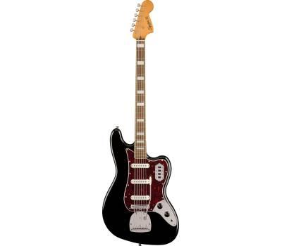 Купить SQUIER by FENDER CLASSIC VIBE BASS VI LR BLACK Бас-гитара онлайн
