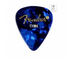 FENDER 351 BLUE MOTO GROSS THIN Медіатор