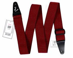 FENDER WEIGHLESS TWEED STRAP, RED Ремень гитарный
