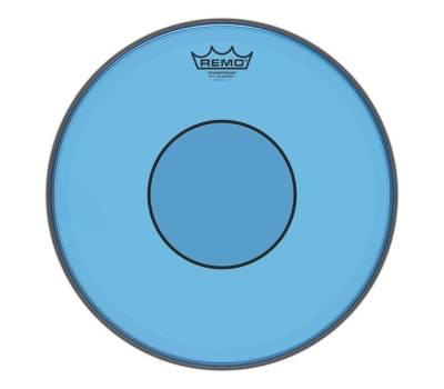 "Купить REMO POWERSTROKE 77 13"" COLORTONE BLUE Пластик для барабана онлайн"