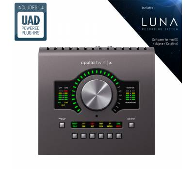 Купить UNIVERSAL AUDIO Apollo Twin X Quad Аудиоинтерфейс онлайн