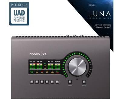 Купить UNIVERSAL AUDIO Apollo x4 Аудиоинтерфейс онлайн