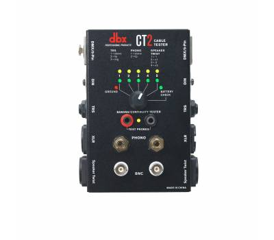 Купить DBX CT-2 Тестер для кабелей онлайн