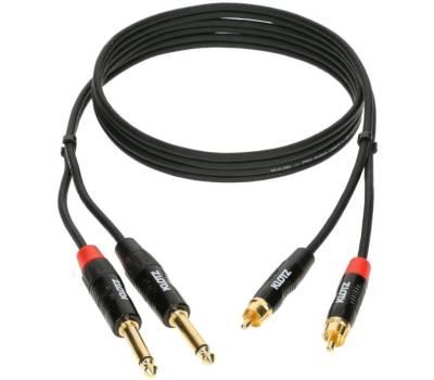 Купить KLOTZ KT-CJ150 MINILINK PRO TWIN CABLE BLACK 1.5 M Кабель коммутационный онлайн