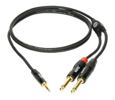 Купить KLOTZ KY5-150 MINILINK PRO Y-CABLE BLACK 1.5 M Кабель коммутационный онлайн