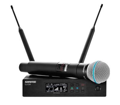 Купить SHURE QLXD24E/B58-G51 Микрофонная радиосистема онлайн