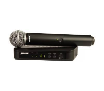 Купить SHURE BLX24E/SM58-M17 Микрофонная радиосистема онлайн