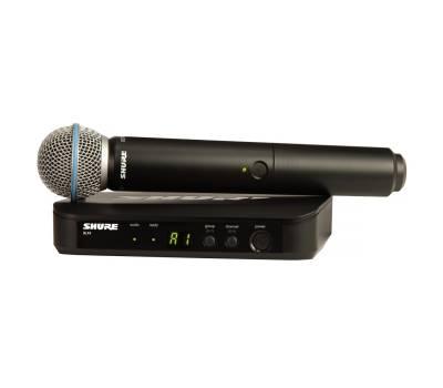 Купить SHURE BLX24E/B58-Q25 Микрофонная радиосистема онлайн