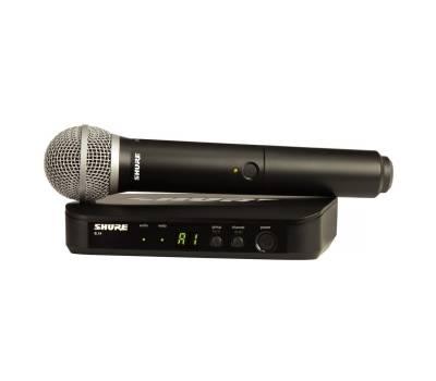 Купить SHURE BLX24E/PG58-Q25 Микрофонная радиосистема онлайн