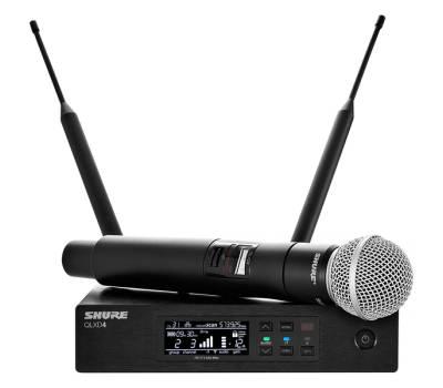 Купить SHURE QLXD24E/SM58-G51 Микрофонная радиосистема онлайн