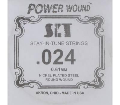 Купить SIT STRINGS 024PW Струна для электрогитары онлайн