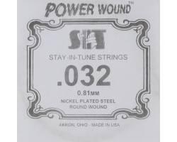 SIT STRINGS 032PW Струна для электрогитары