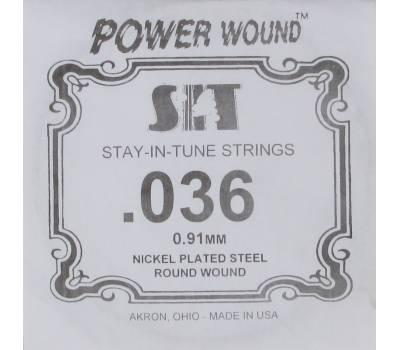 Купить SIT STRINGS 036PW Струна для электрогитары онлайн